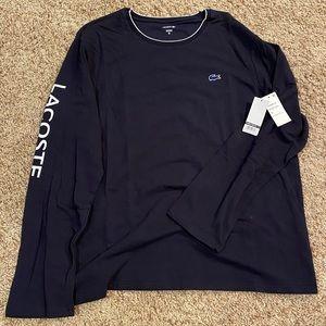 Lacoste lounge long sleeve knit t-shirt